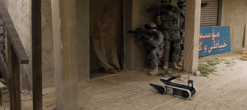 iRobot SUGV for Infantry Troops