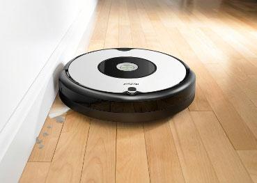 Roomba 605 sprzątanie przy krawędzi