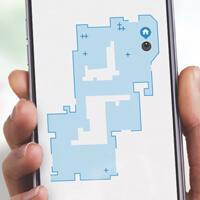 iRobot HOME App floor schematic