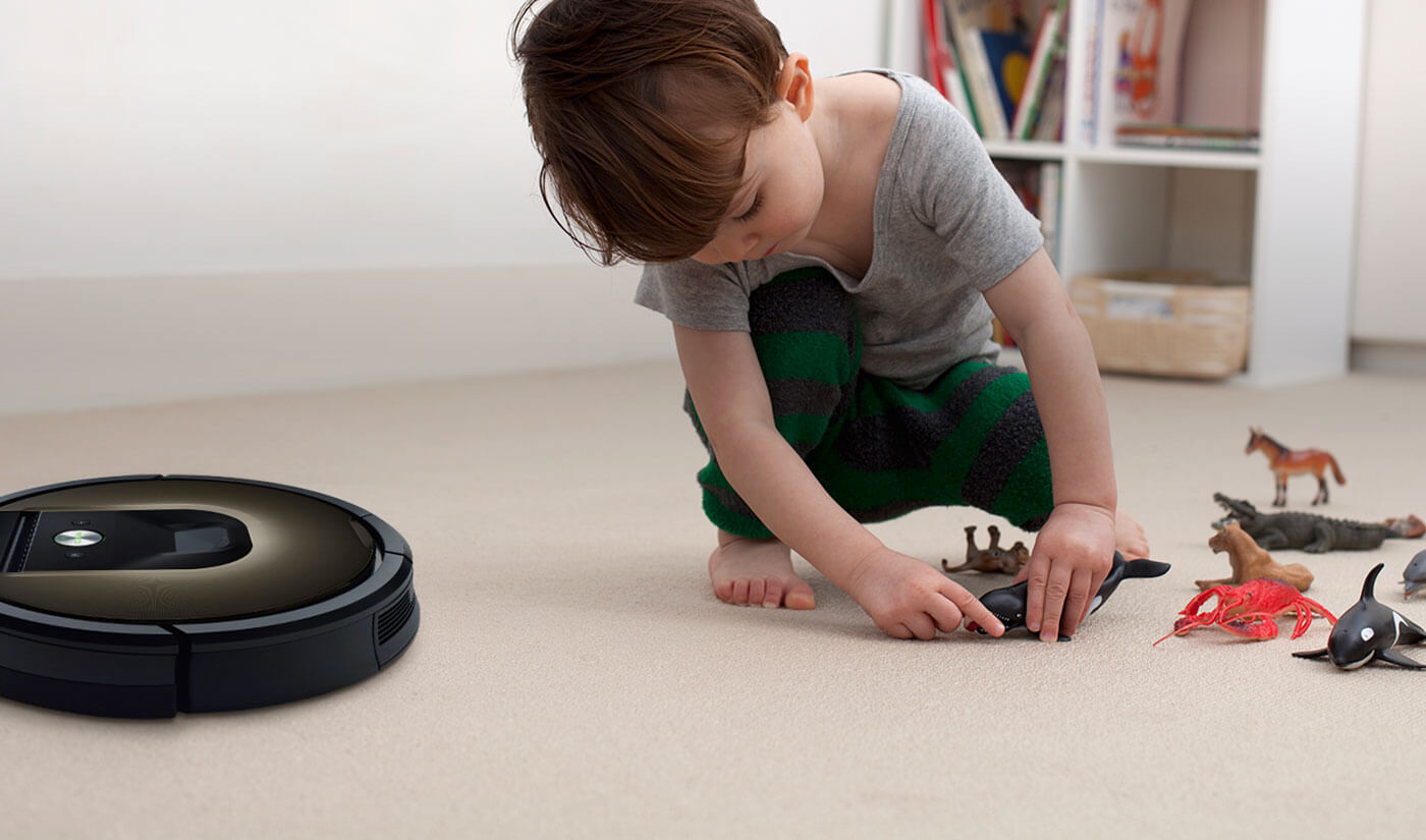 The iRobot Roomba Vacuum Cleaning Robot