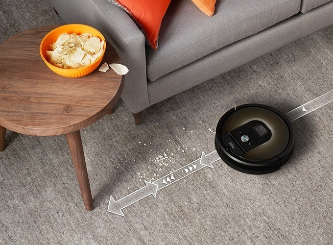 Roomba targets dirt and debris with precision