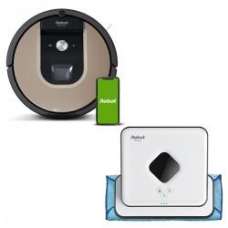 Zestaw iRobot Roomba 976 + Braava 390T