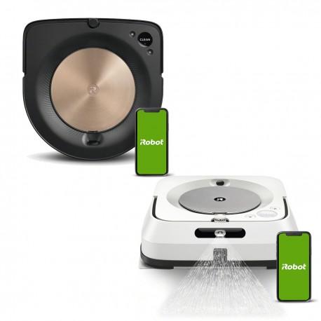 Zestaw iRobot Roomba s9 + Braava jet m6