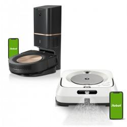 Zestaw iRobot Roomba s9+ + Braava jet m6