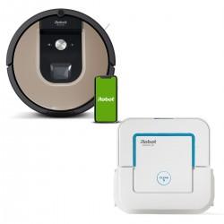 Zestaw iRobot Roomba 976 + Braava jet 250
