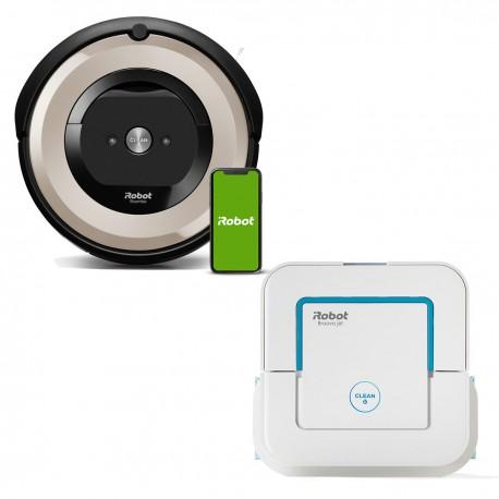 Zestaw iRobot Roomba e5 (e5152) + Braava jet 250