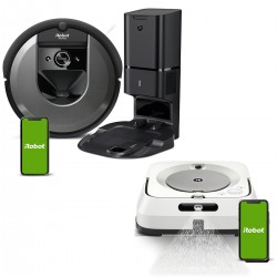 Zestaw iRobot Roomba i7558 + Braava jet m6