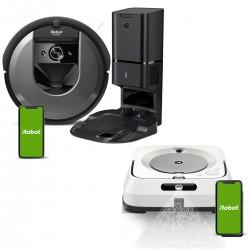 Zestaw iRobot Roomba i7+ (i7558) + Braava jet m6