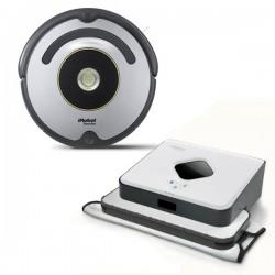 Zestaw iRobot Roomba 616 + Braava 390 Turbo
