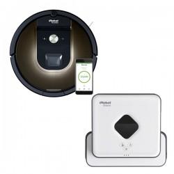 Zestaw iRobot Roomba 980 + Braava 390 Turbo