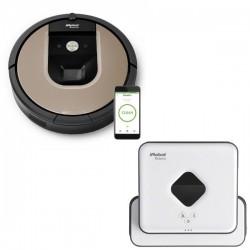 Zestaw iRobot Roomba 966 + Braava 390 Turbo