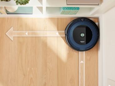 iRobot Roomba 695 praca w narożnikach