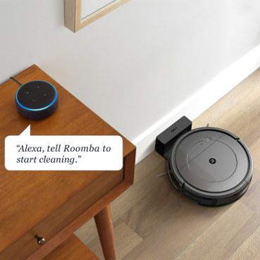 iRobot Roomba Combo współpraca z inteligentnym głośnikiem