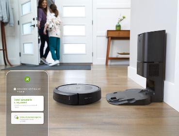 iRobot Roomba i3+ korzystanie z aplikacji iRobot Home