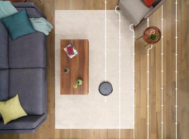 iRobot Roomba i3 nawigacja liniowa