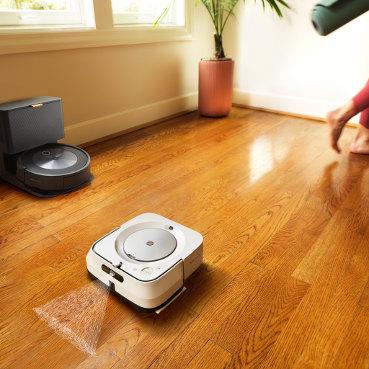 iRobot Roomba j7 współpraca z iRobot Braava m6