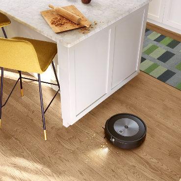 iRobot Roomba j7 wykrywanie brudu