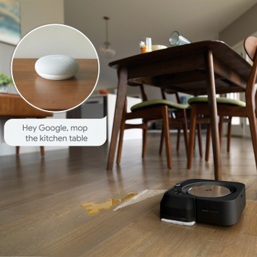 iRobot Braava jet m6 Alexa Google Assistant